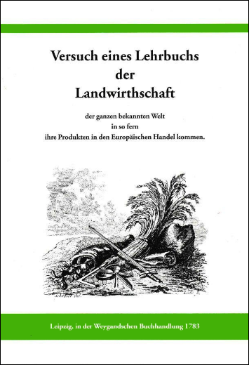 Versuch eines Lehrbuchs der Landwirtschaft